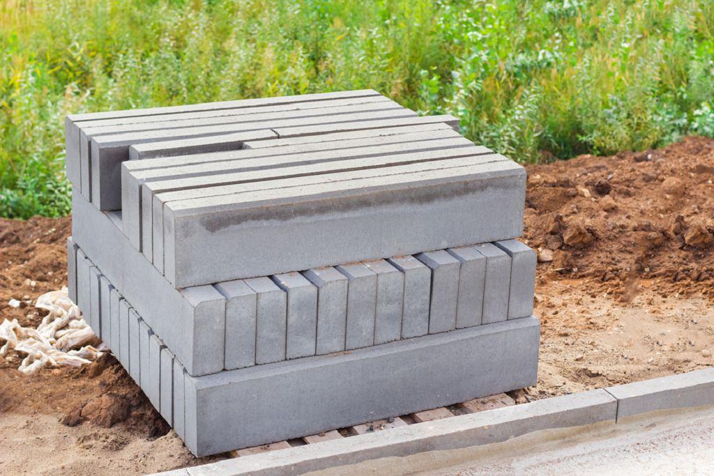 Бордюры для грядок из бетона купить максимальная температура для цементного раствора