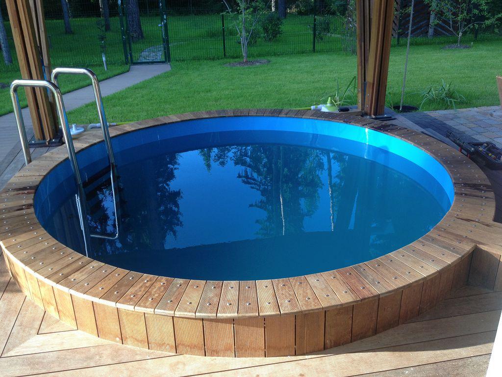 Садовый бассейн - преимущества стоимости и необходимая информация